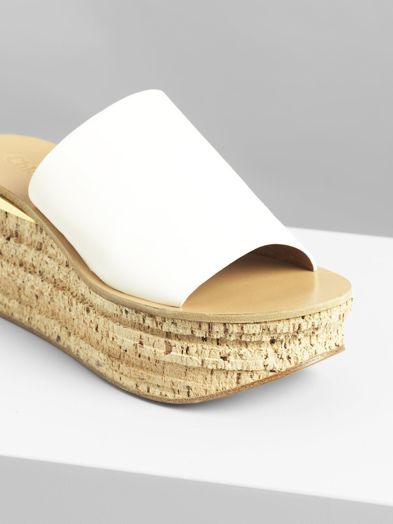 CAMILLE WEDGE MULES 2