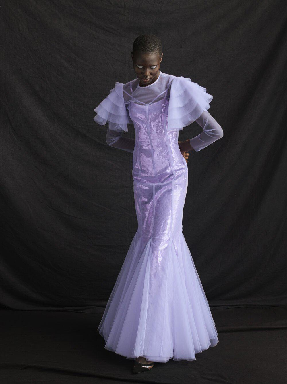 AURORA GOWN LILAC TULLE 9