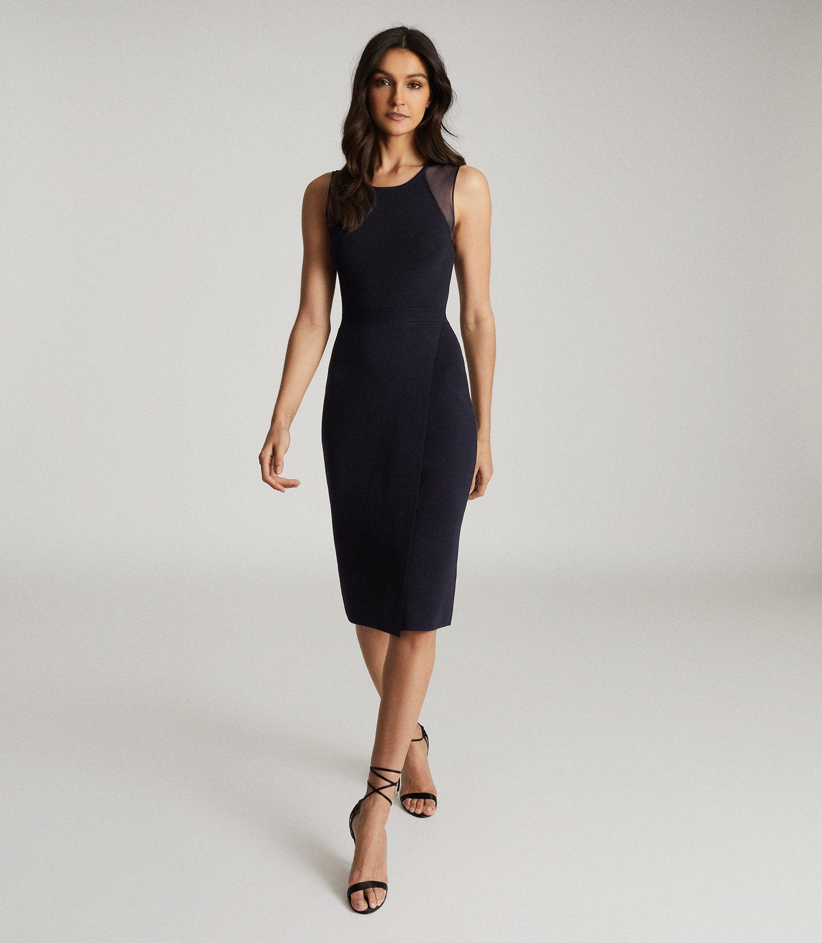 LEILA - KNITTED BODYCON DRESS
