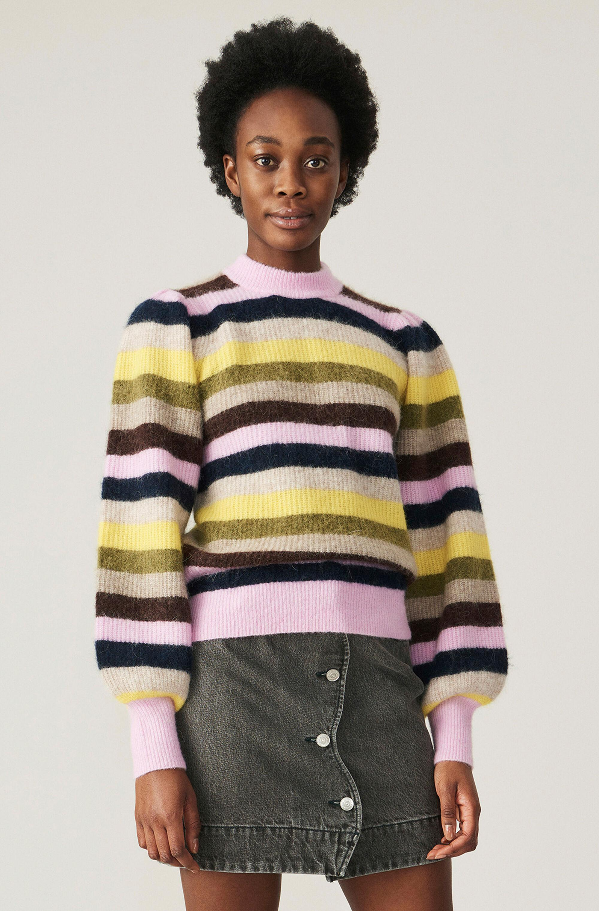 Soft Wool Knit Pullover - Multi