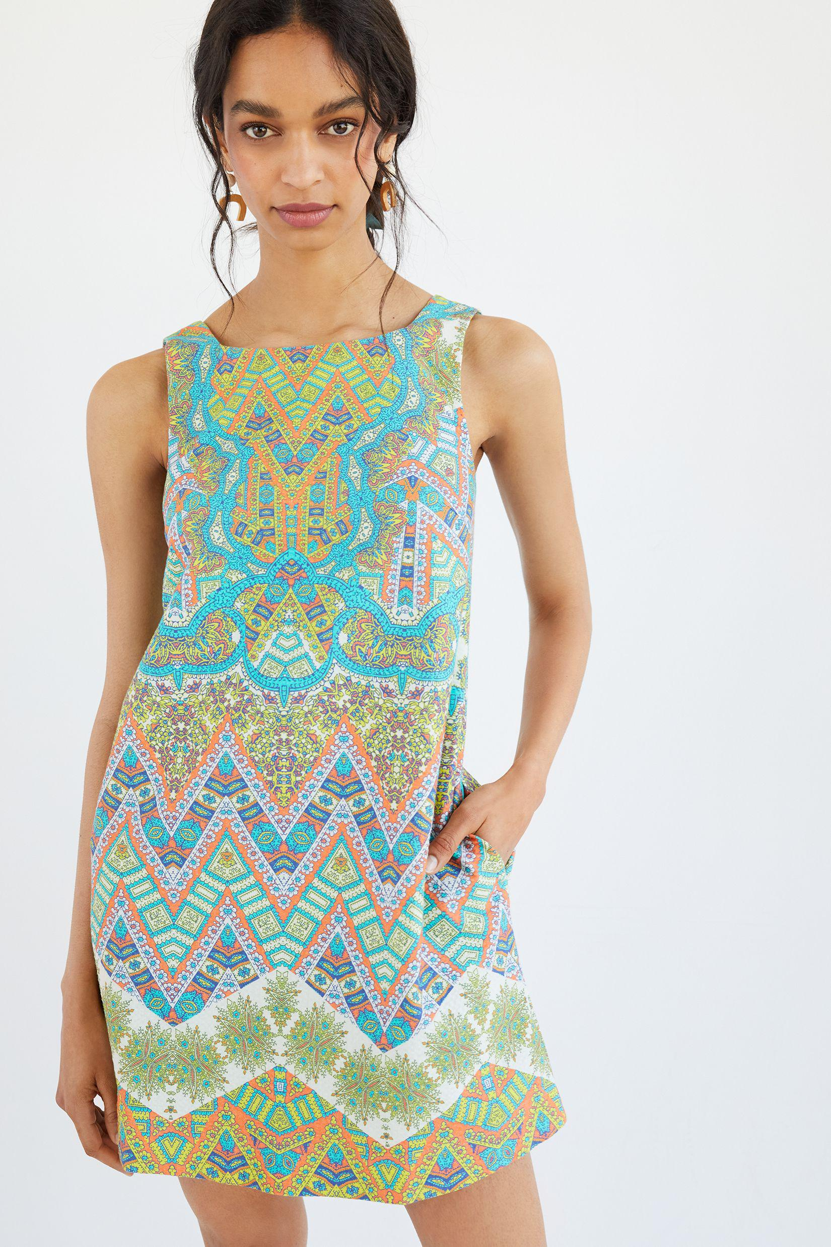 Maeve Abstract Tunic Dress