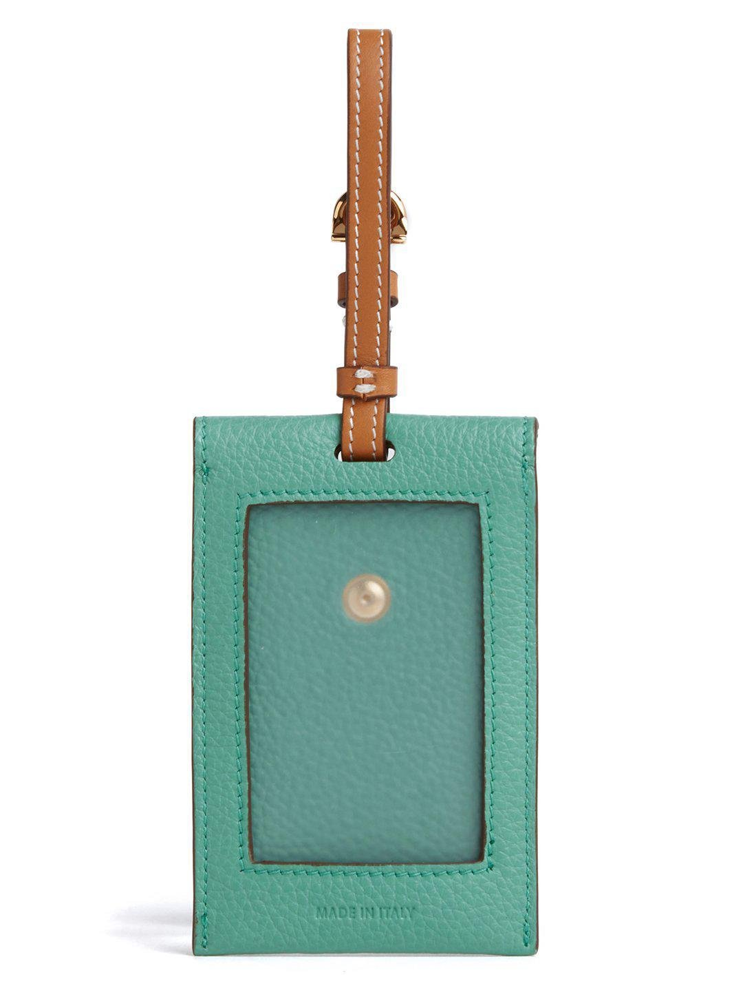 Leather Luggage Tag 1