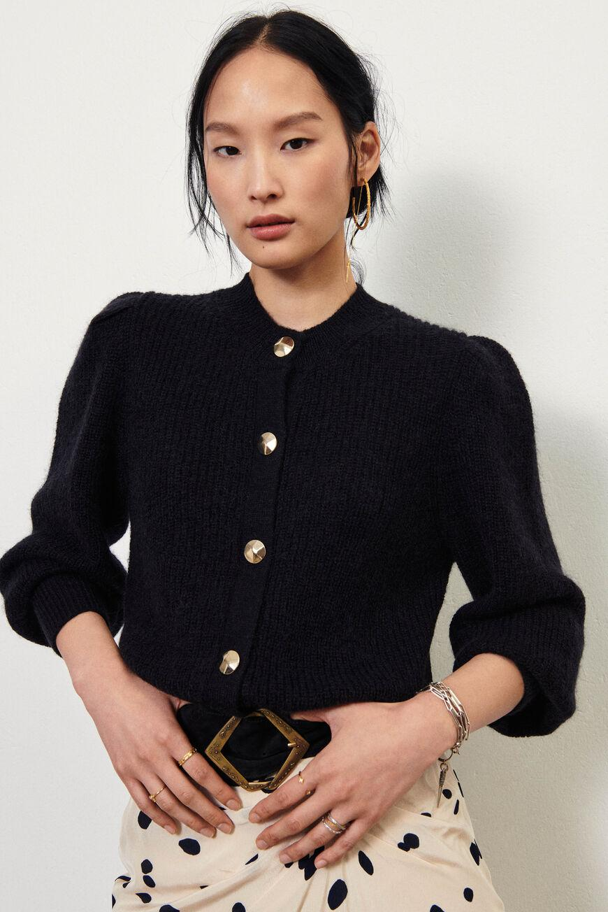 baylor.BUTTONED CARDIGAN