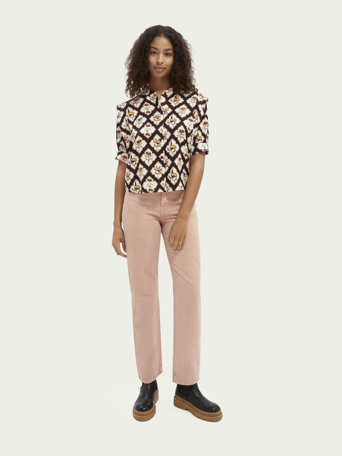 Tailored cotton jeans — Pastel Dyes 1