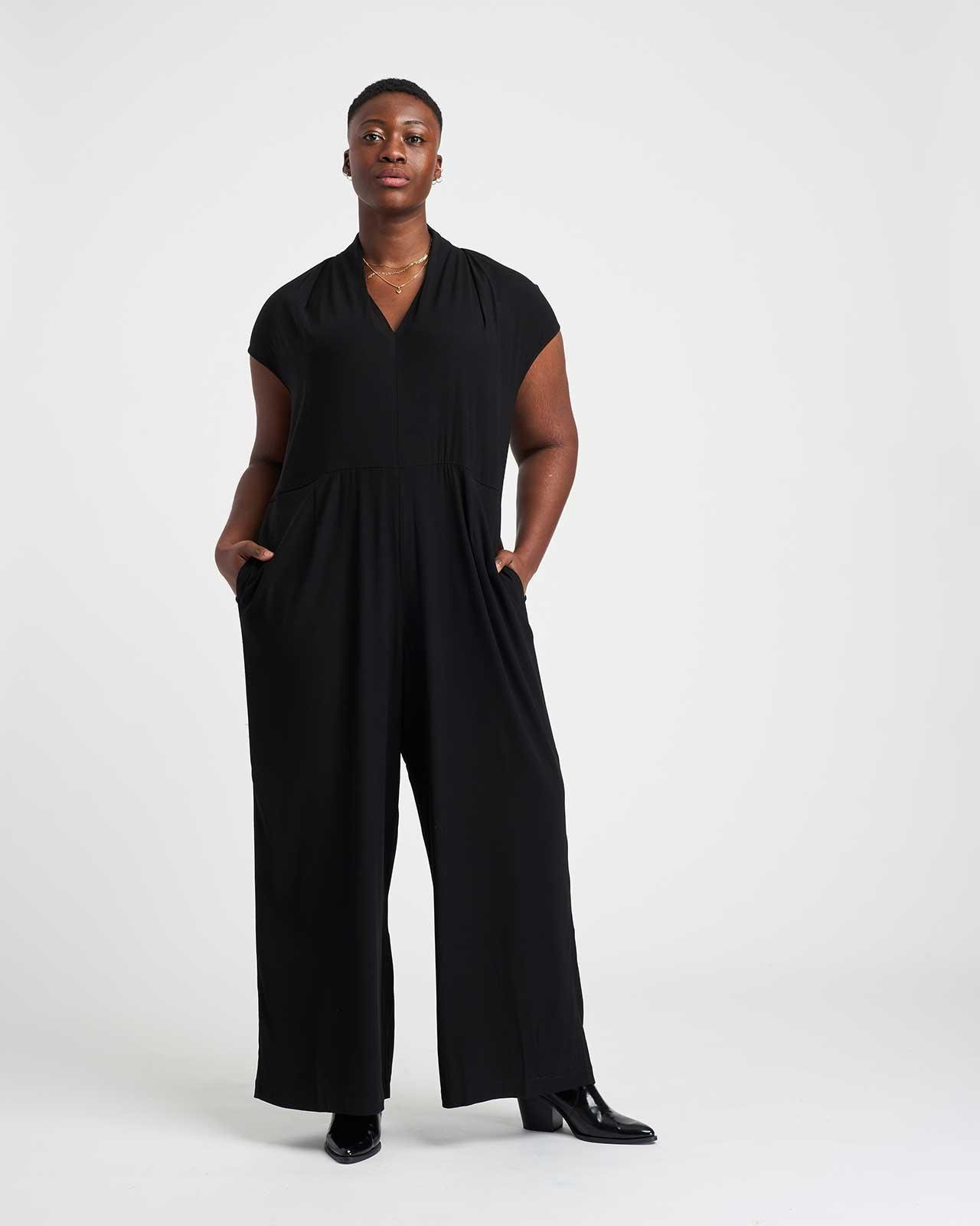 Cambria Luxe Twill Jumpsuit