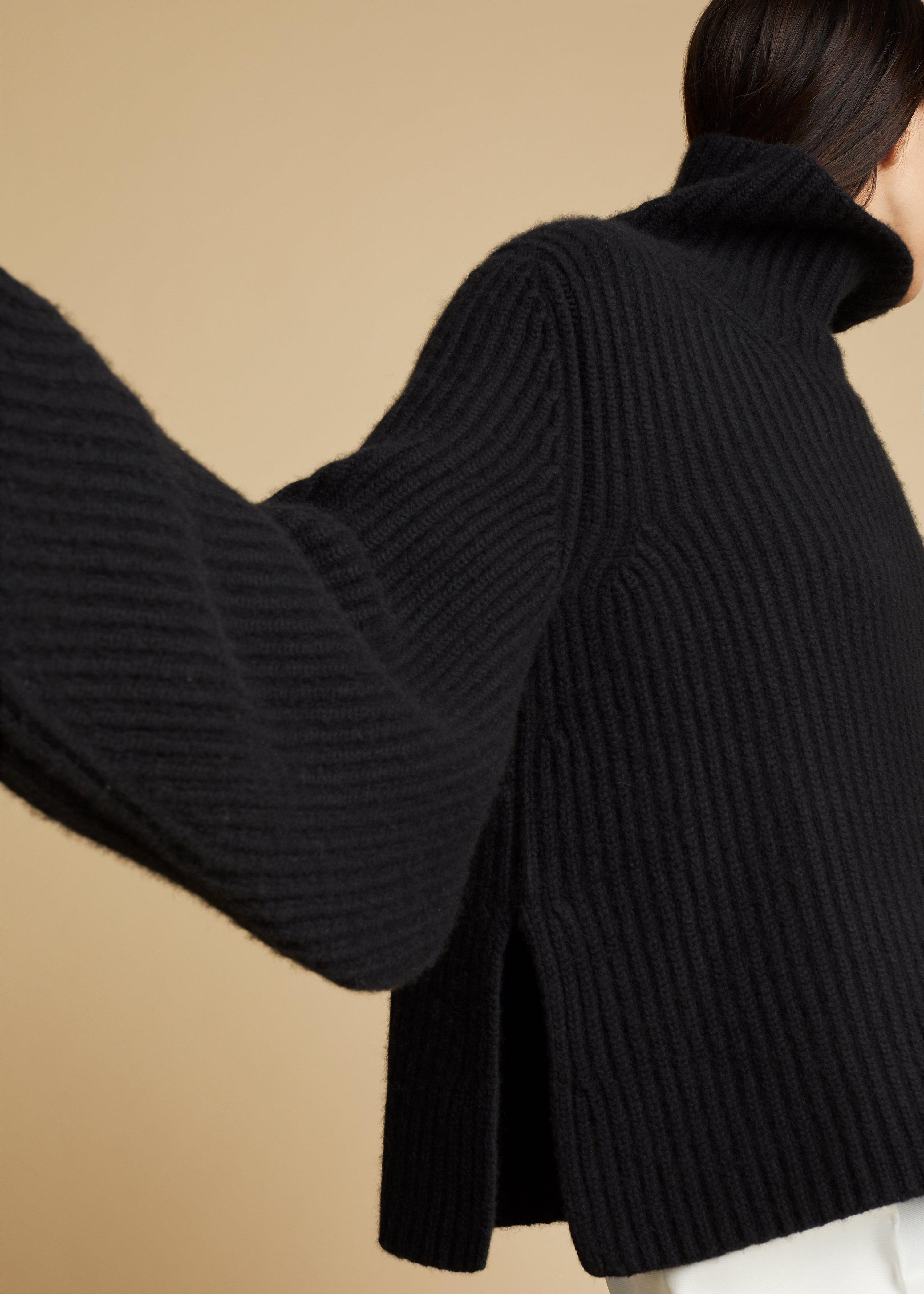 The Molly Sweater in Black 6