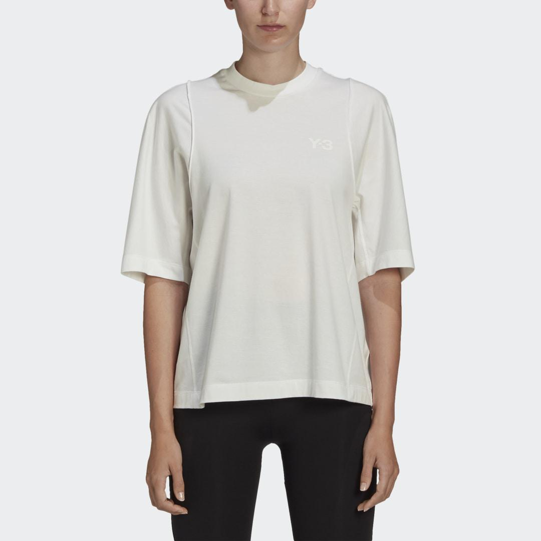Y-3 Classic Tailored Tee White