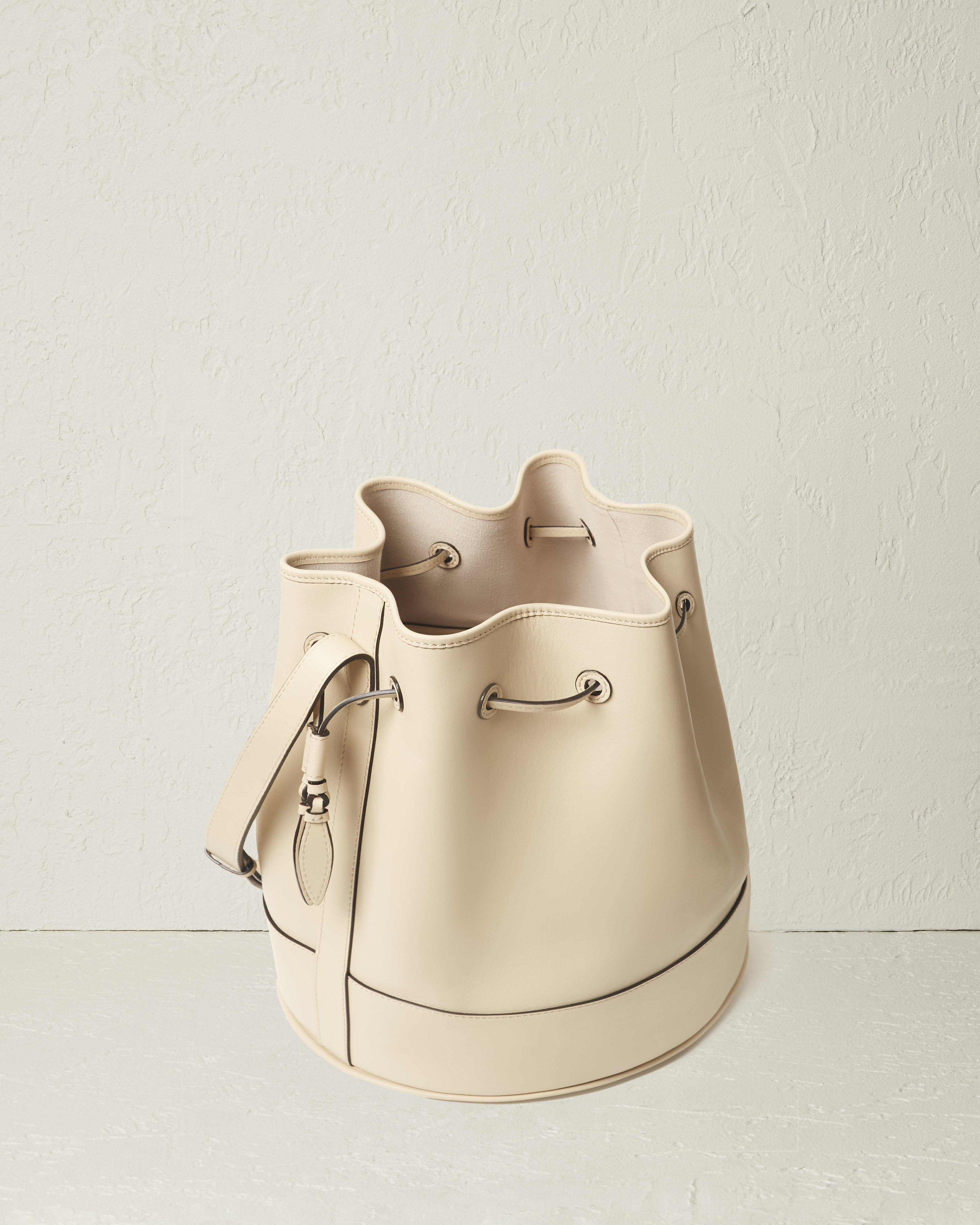 The Extra Large Drawstring in Nappa Leather