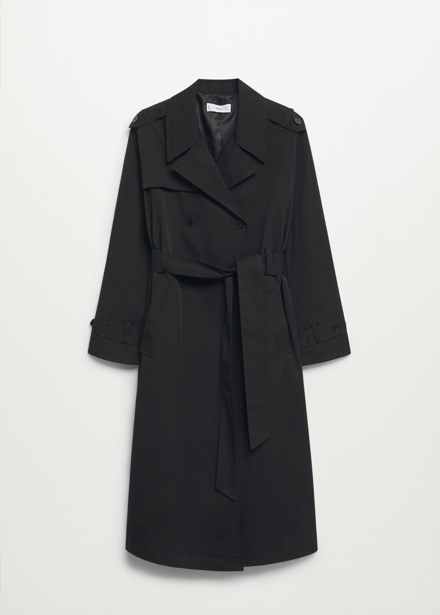 Classic cotton trench coat 6