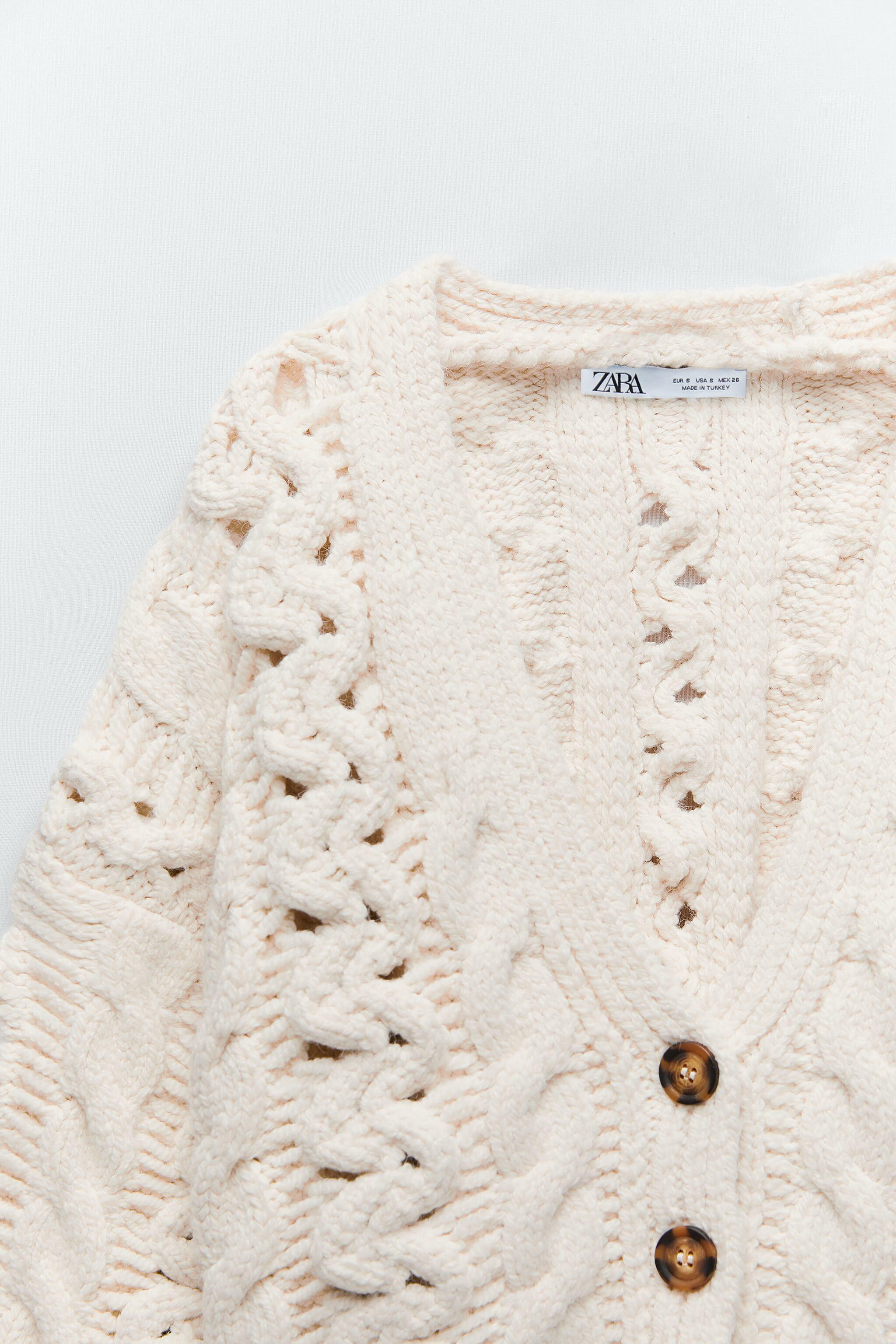 CABLE KNIT CARDIGAN 5