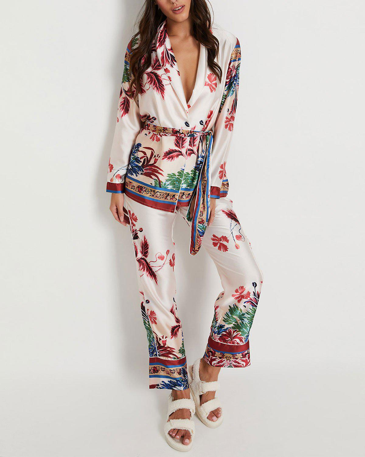 Gilly Robe Pajama Set (ONLINE EXCLUSIVE)
