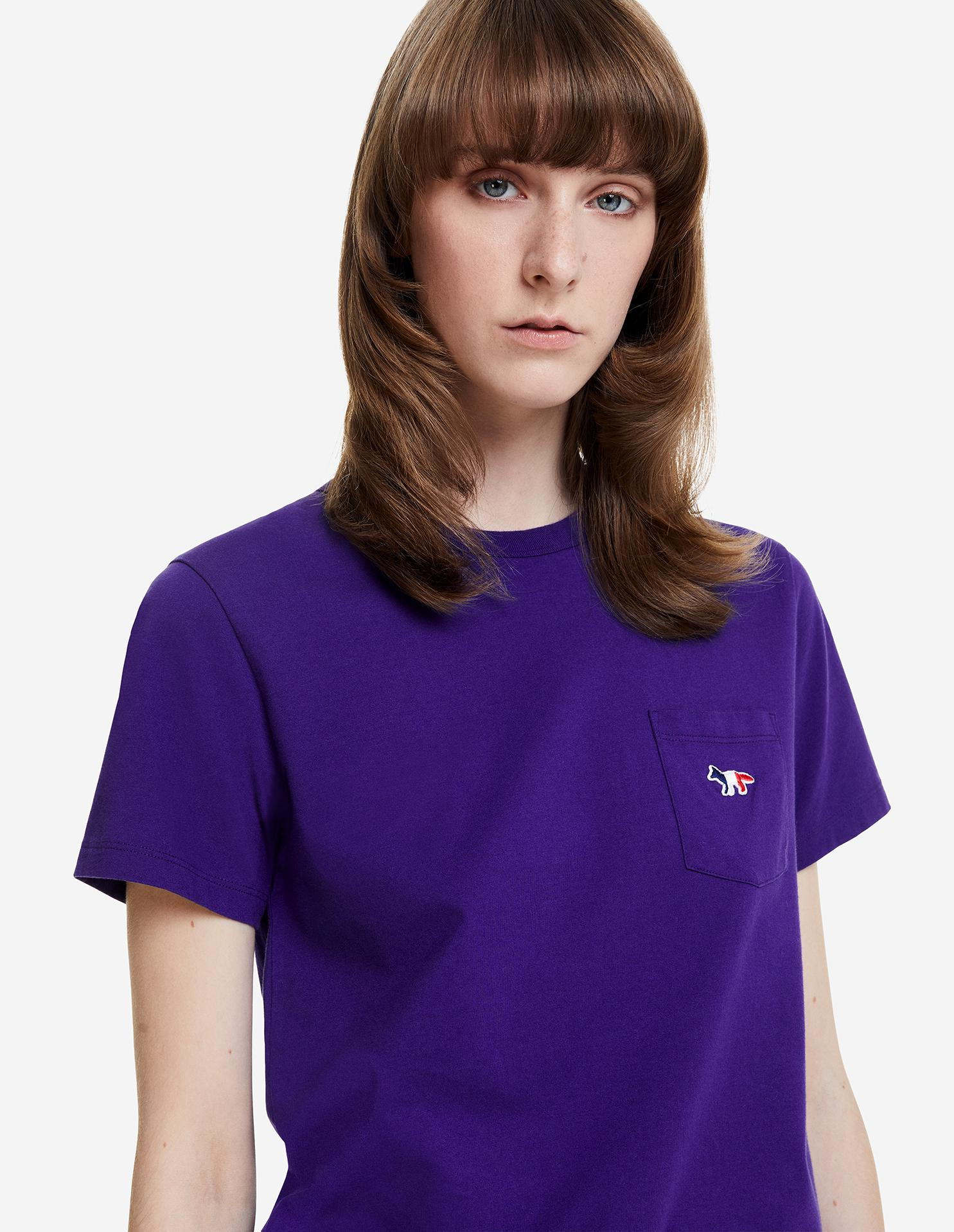 TRICOLOR FOX PATCH CLASSIC POCKET TEE-SHIRT 2
