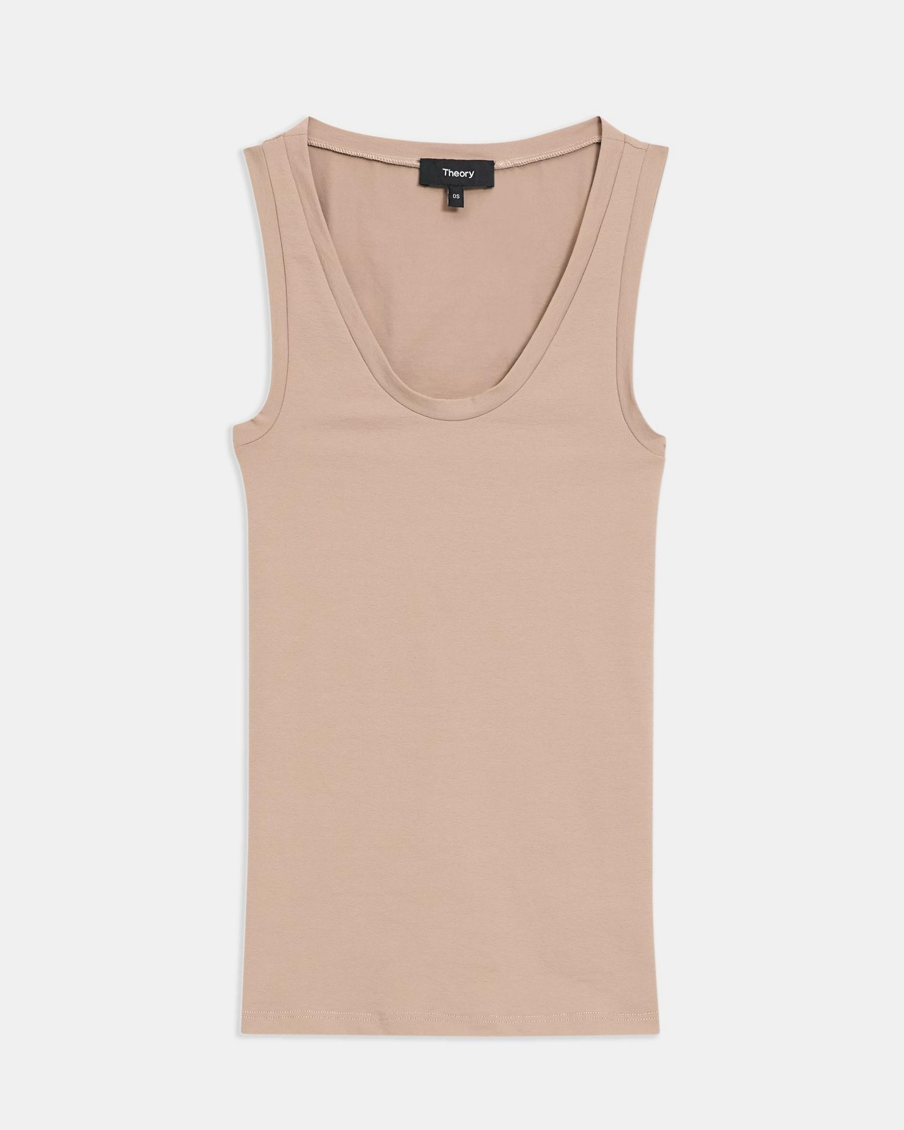 Tank Top in Stretch Jersey 5