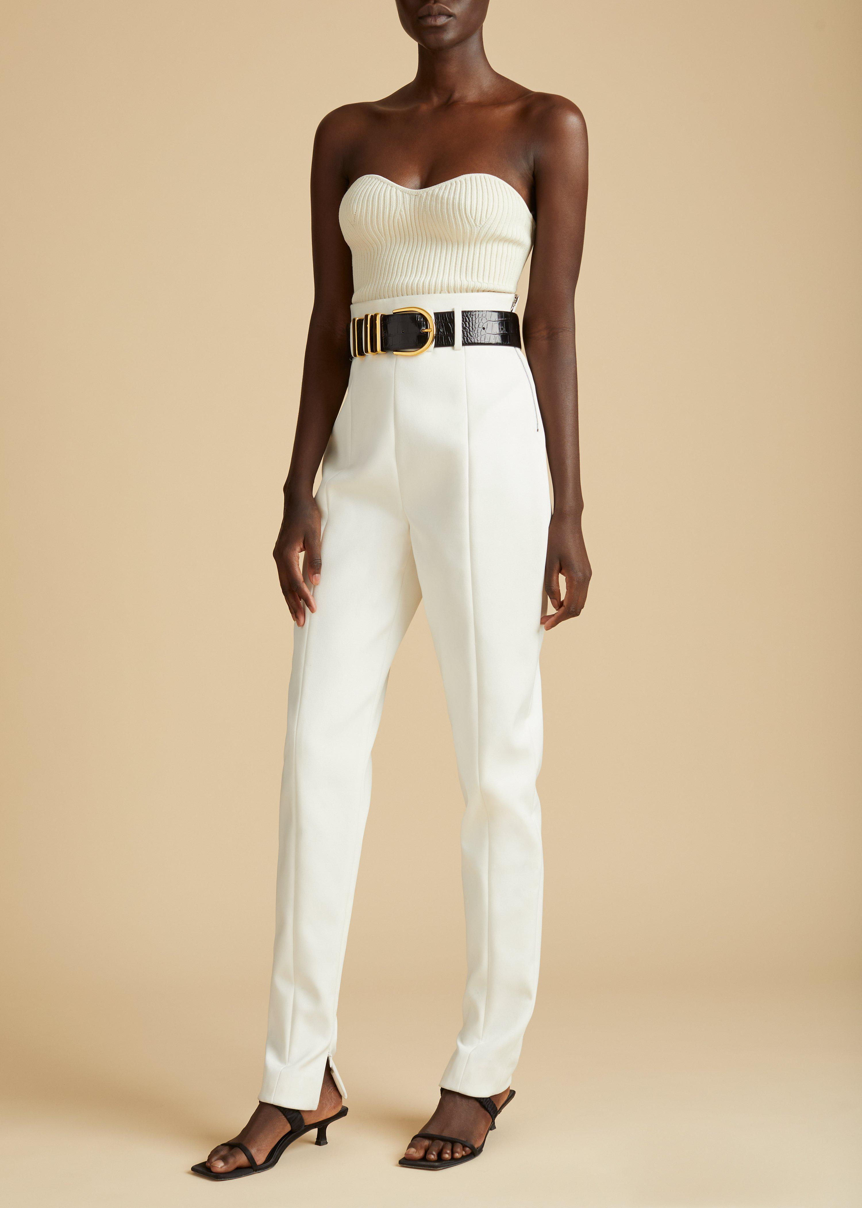 The Lucie Top in Cream 1