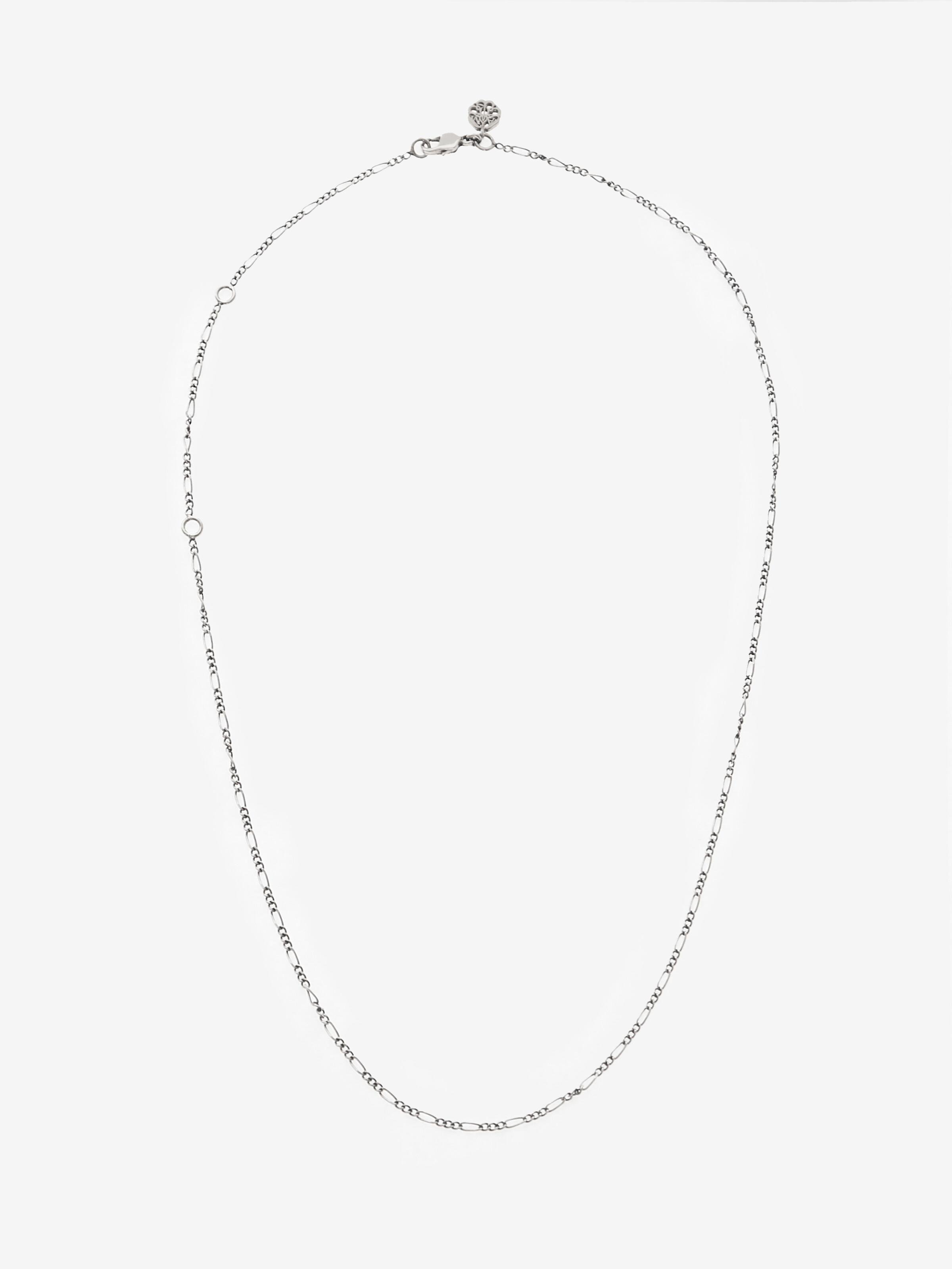 Antique silver-finished Chain