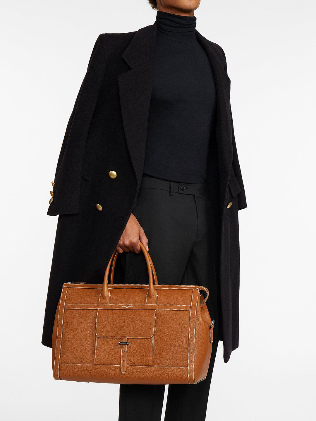 Mick Holdall Leather Duffle Bag 8