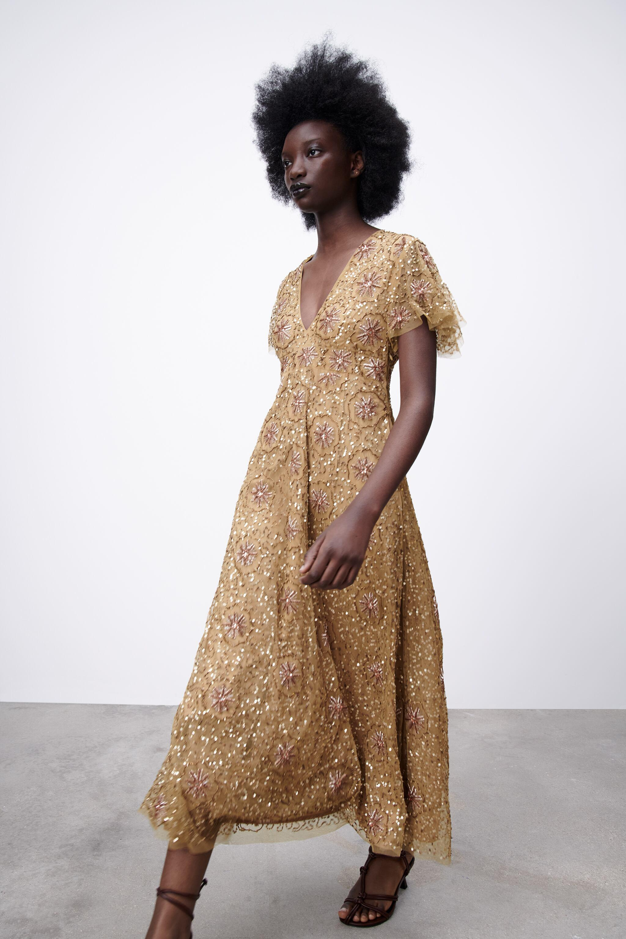 BEADED SPECIAL EDITION KNIT DRESS 3