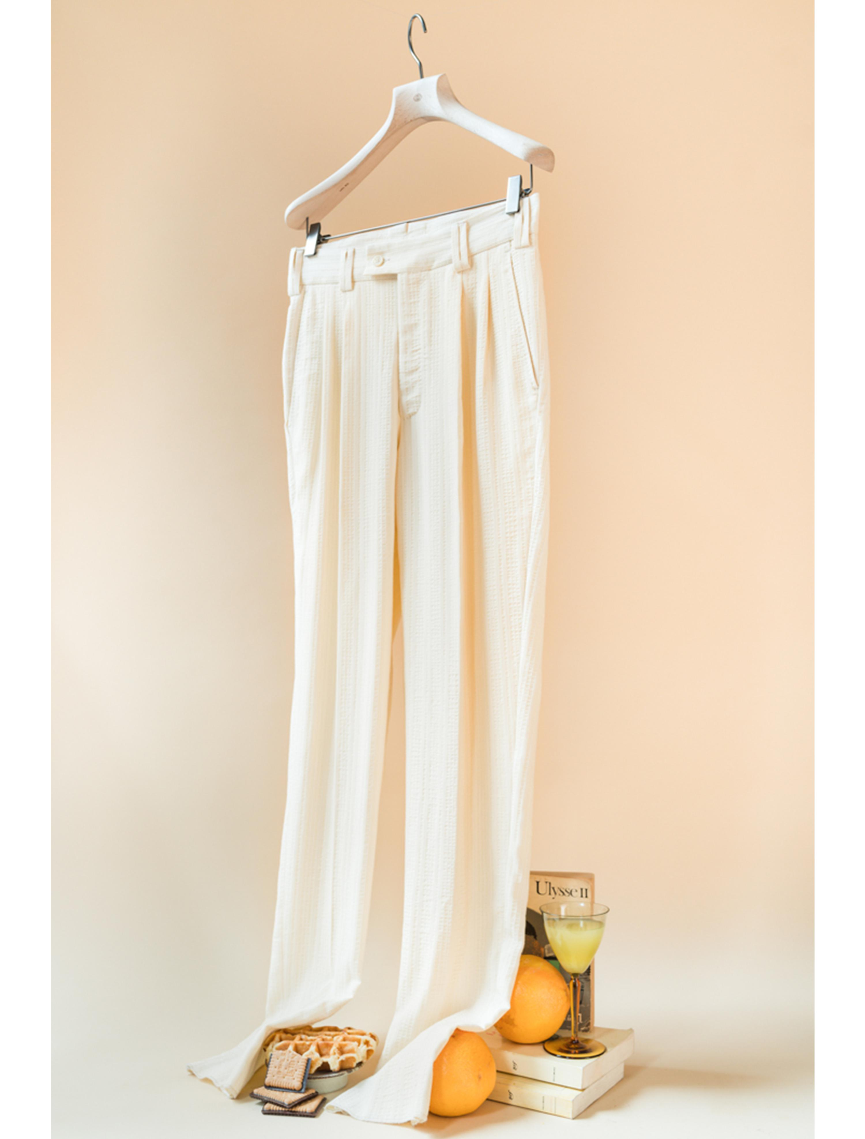 THE SABI RELAXED TAILORED TROUSERS  VISCOSE COTTON