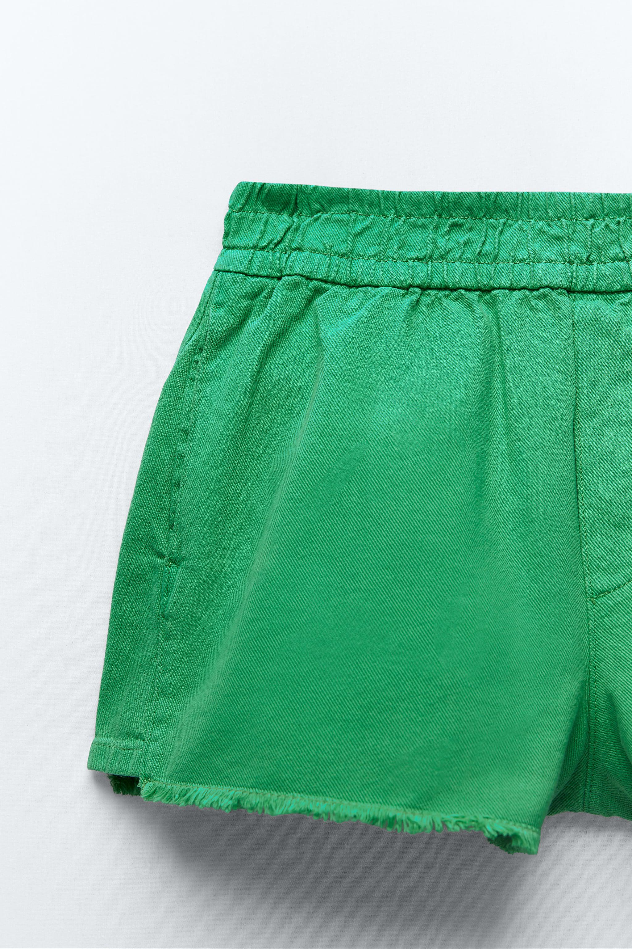 SOLID COLOR SHORTS 6