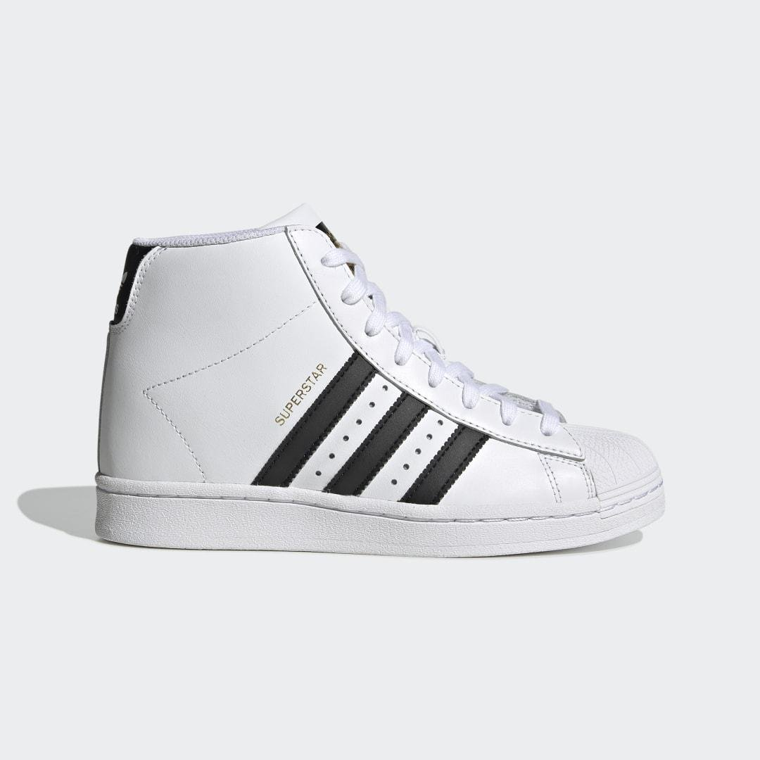 Superstar Up Shoes White 7