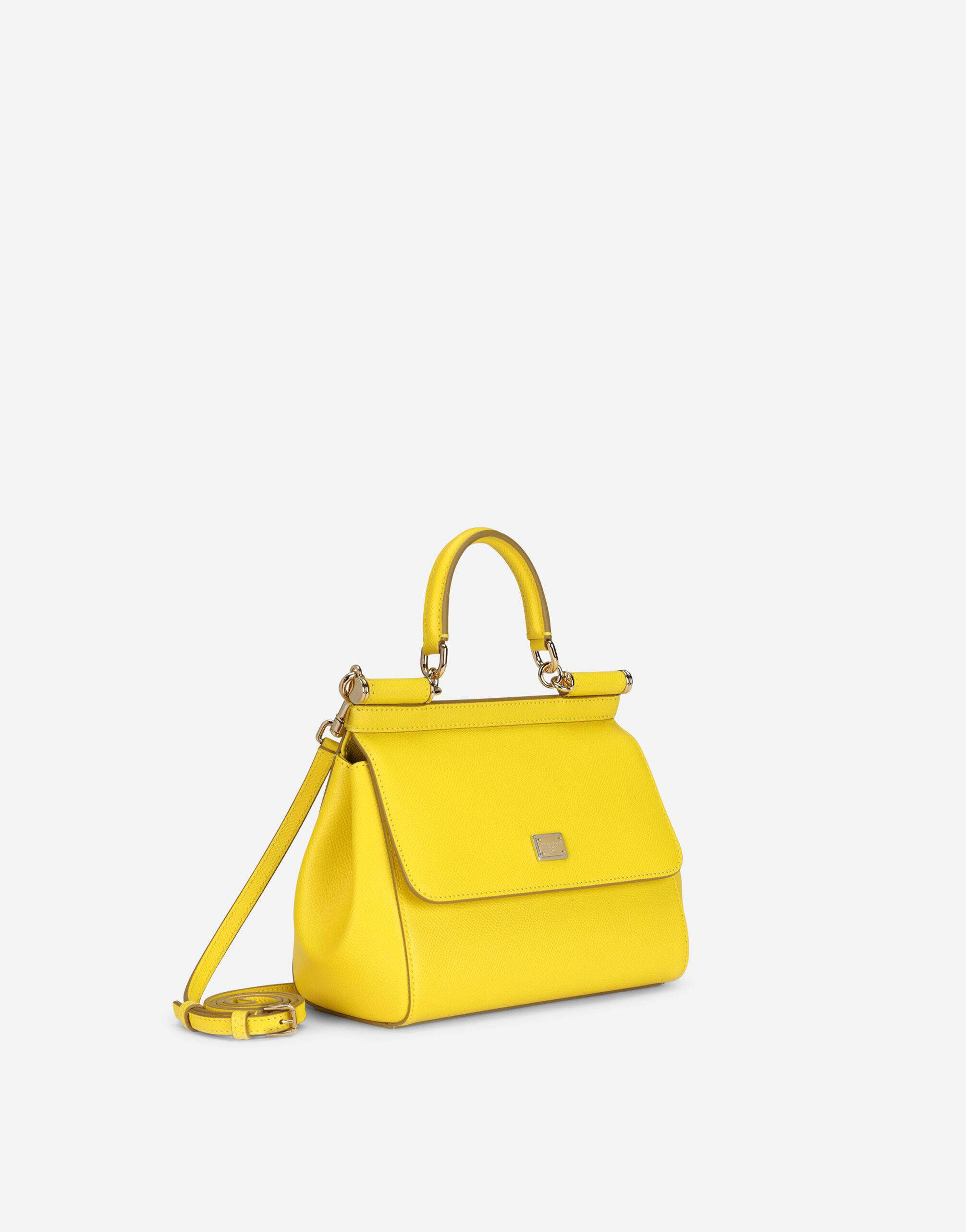 Small Sicily bag in dauphine calfskin 1