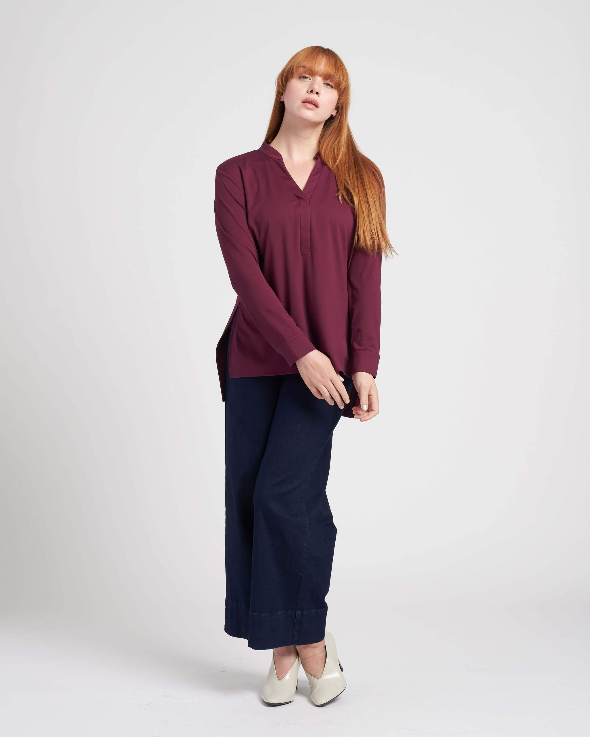 Groove High-Low Pique Tunic