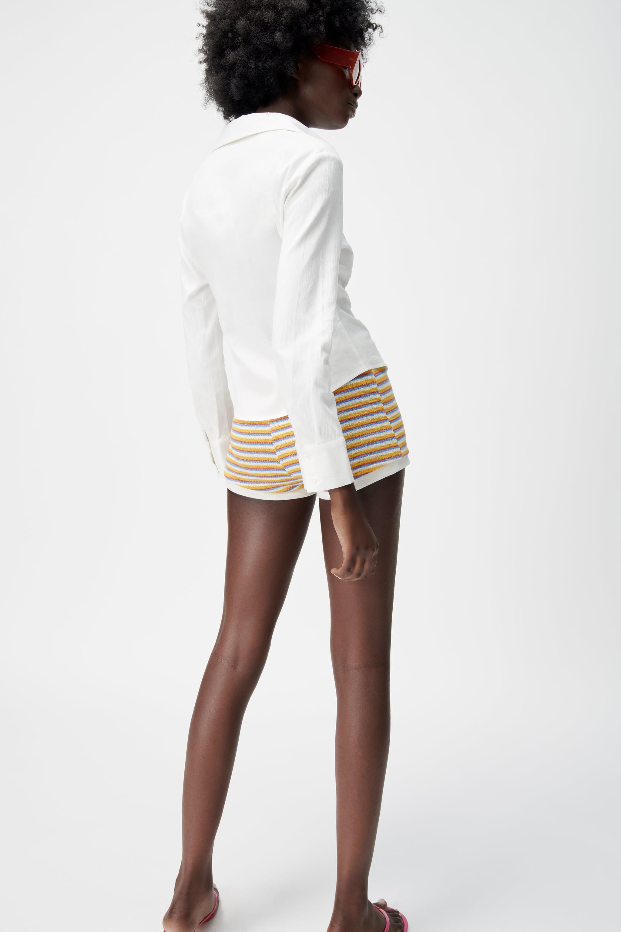 PLEATED TAILORED SHIRT 2