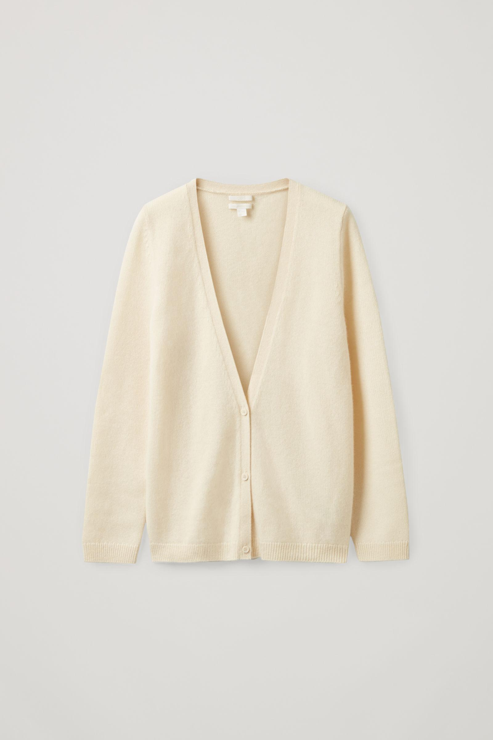 KNITTED CASHMERE CARDIGAN 5
