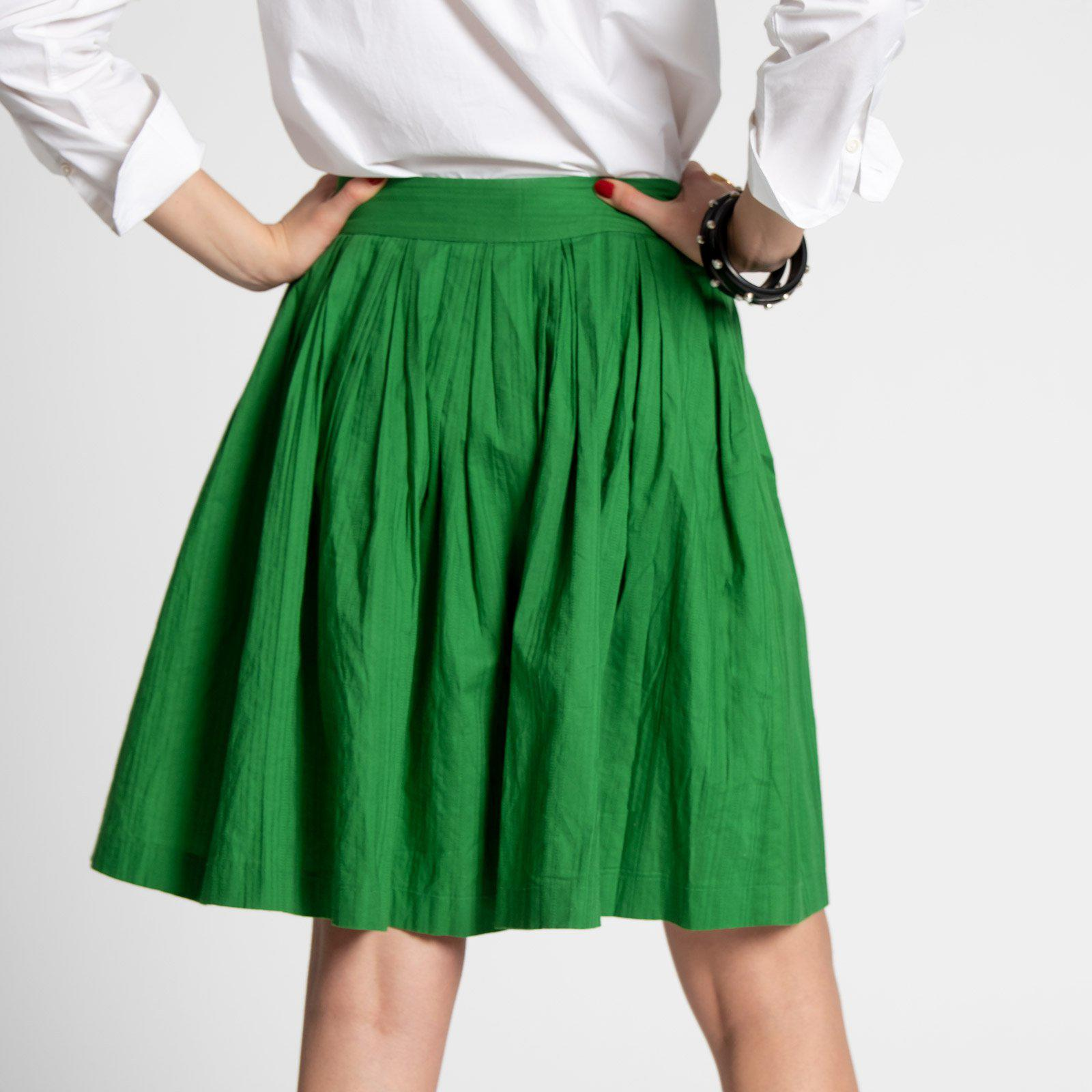 Claire Skirt Green 2
