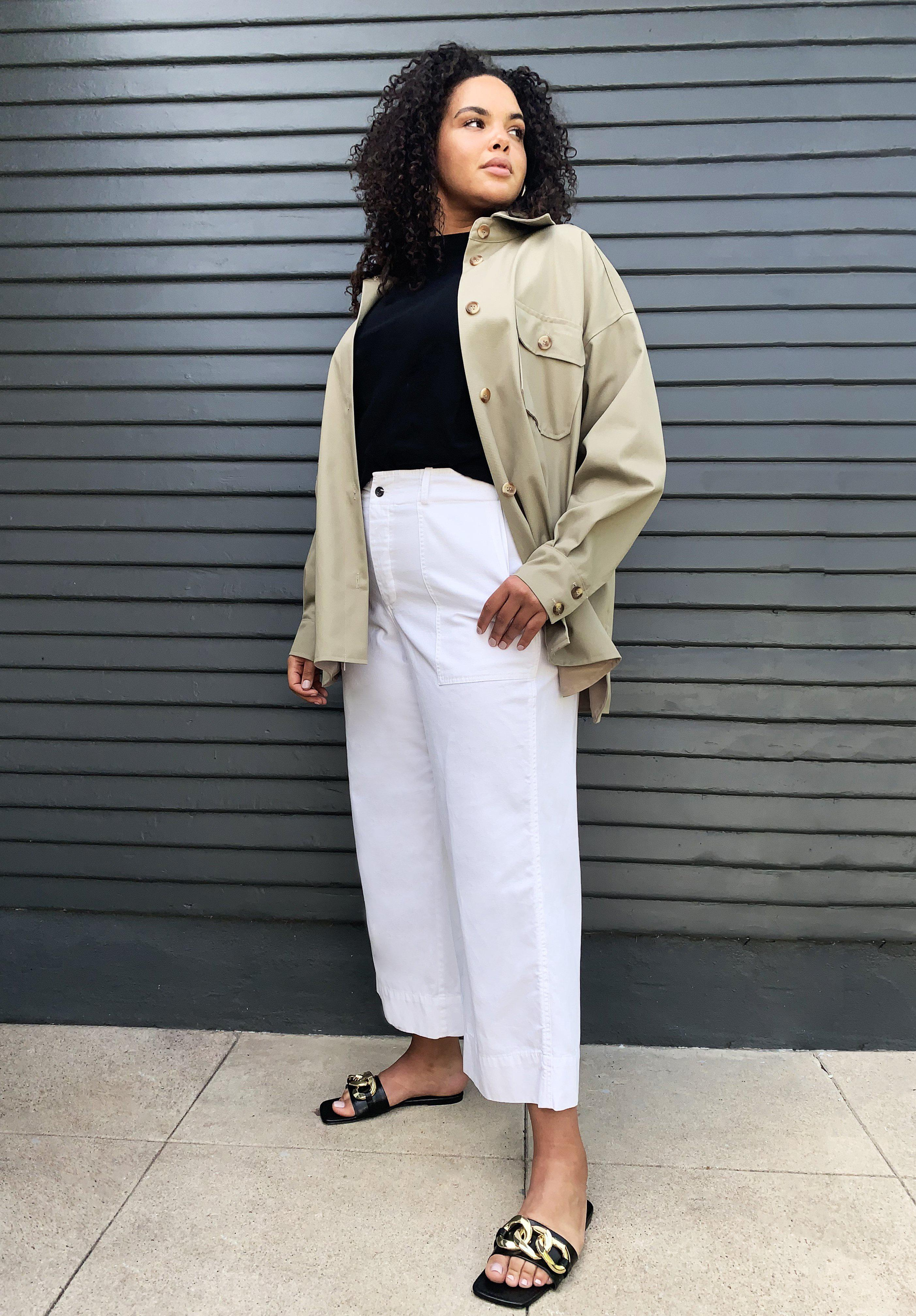 Vintage Army Pant in White