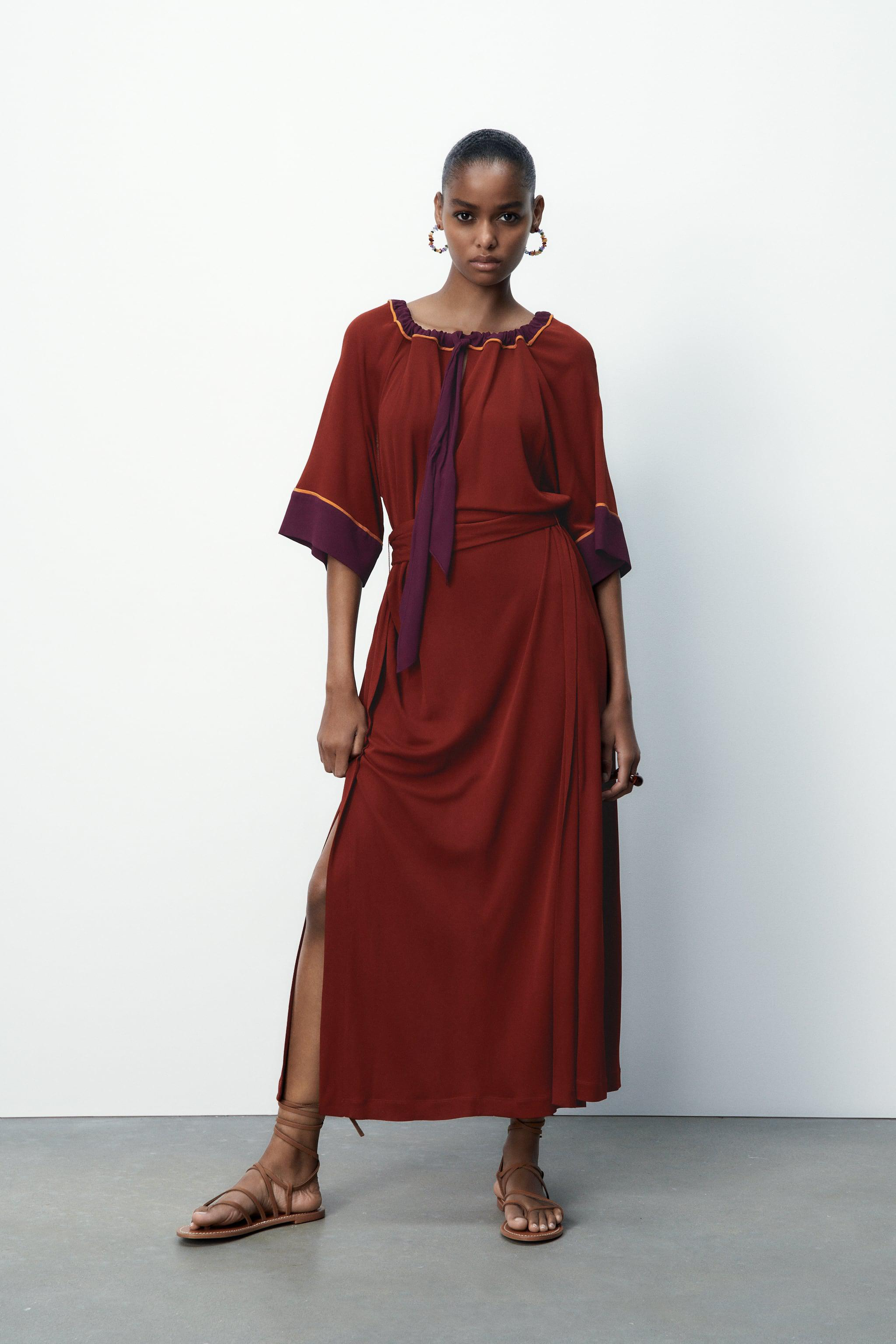 LIMITED EDITION CONTRASTING DRESS 1