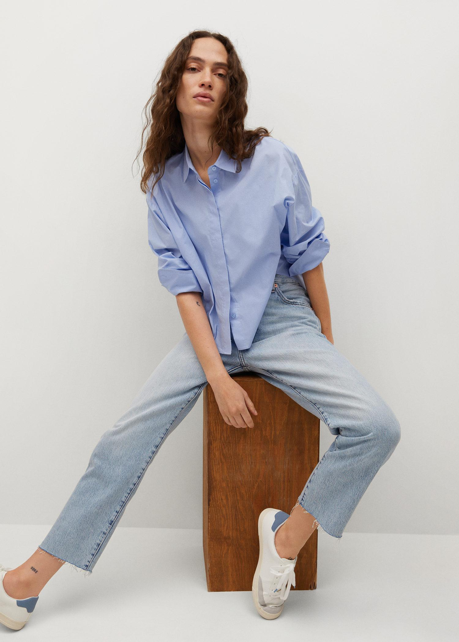 Ankle-length straight-fit jeans 4