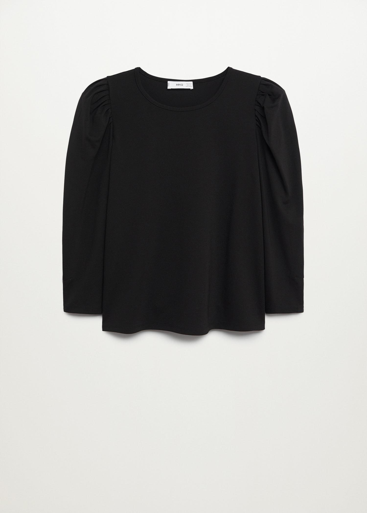 T-shirt with puffed sleeves 7