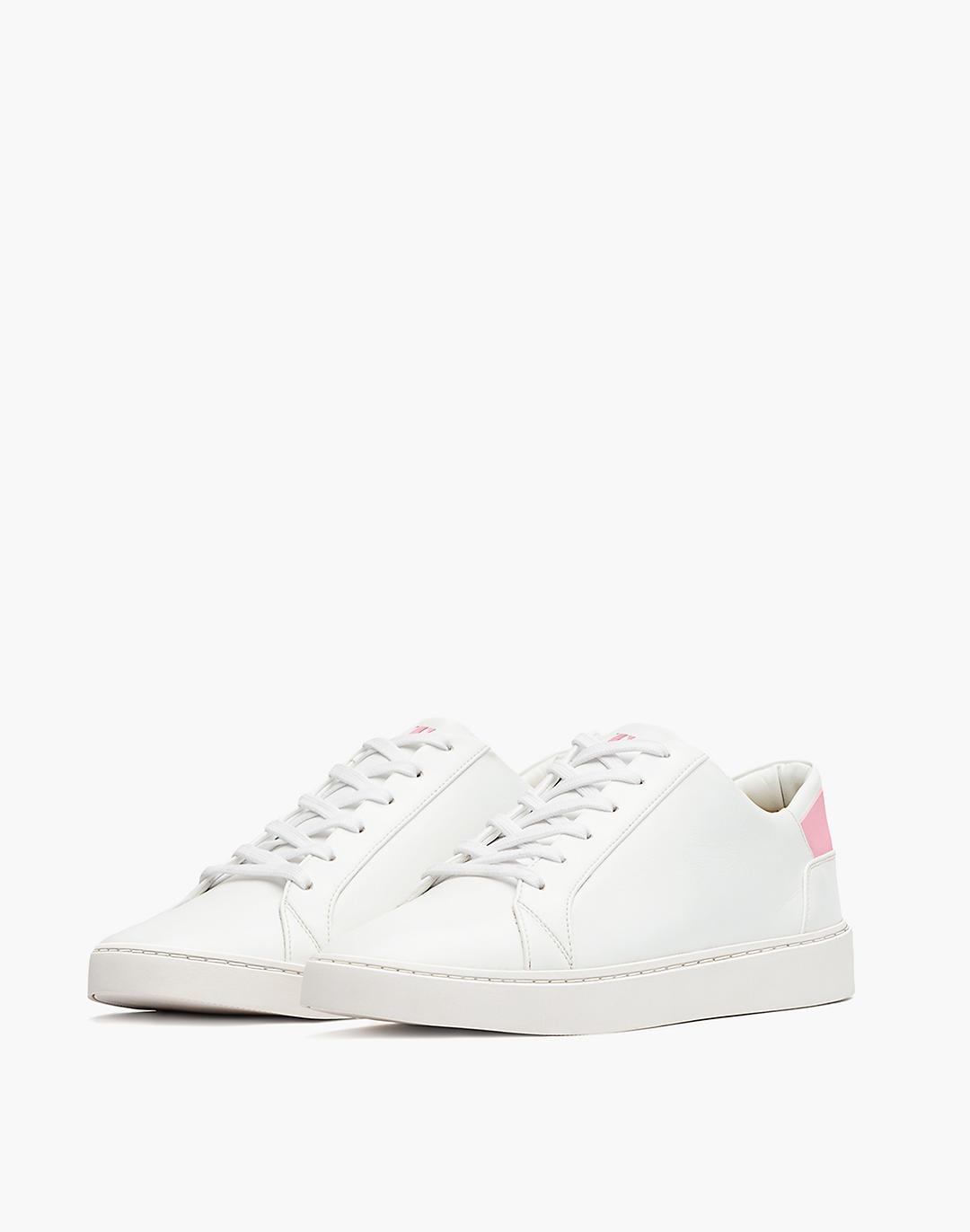 Thousand Fell Vegan Leather Lace-Up Sneakers 1