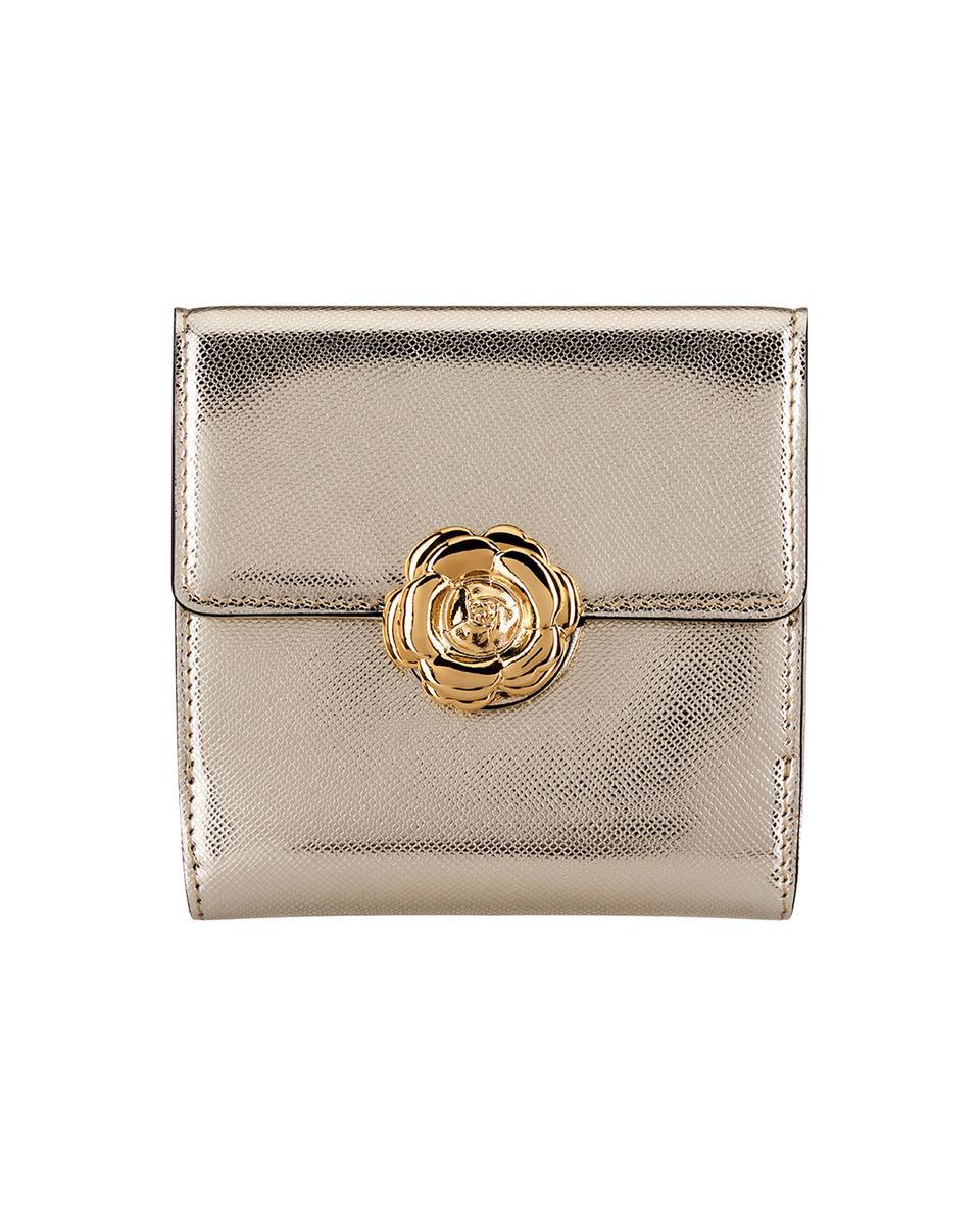 LIGHT GOLD FRENCH WALLET