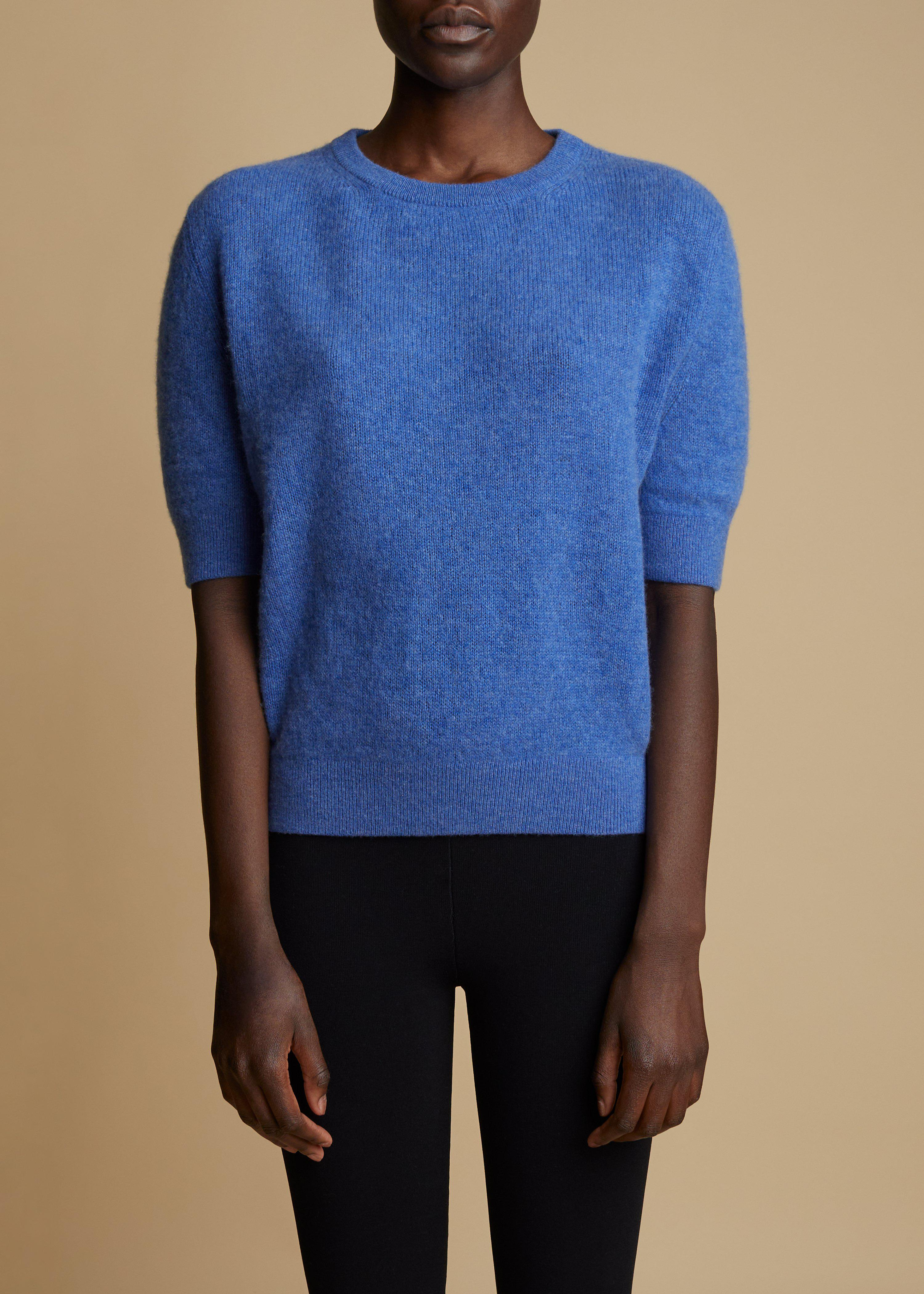 The Dianna Sweater in Sky Blue
