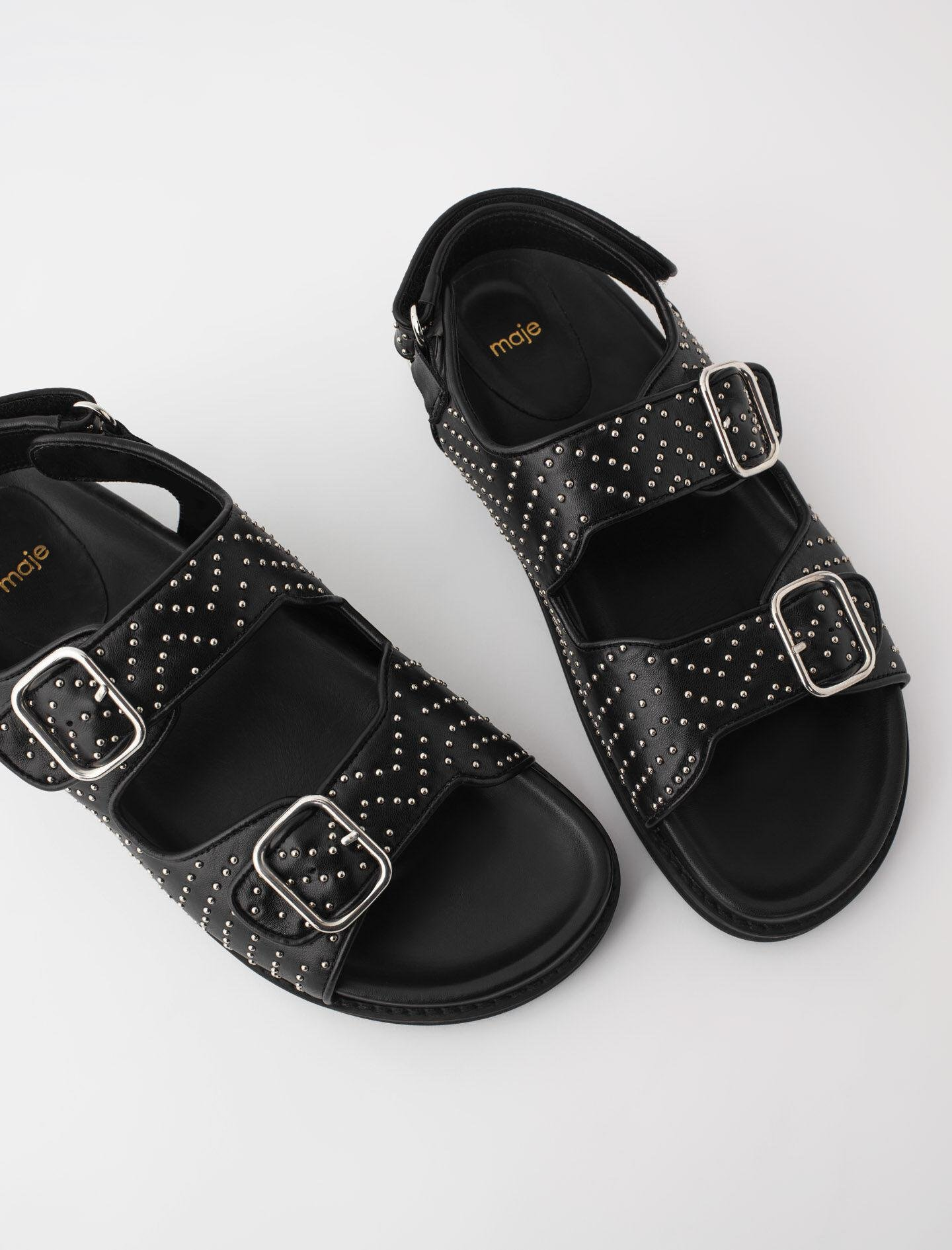STUDDED SANDALS WITH BUCKLES 3