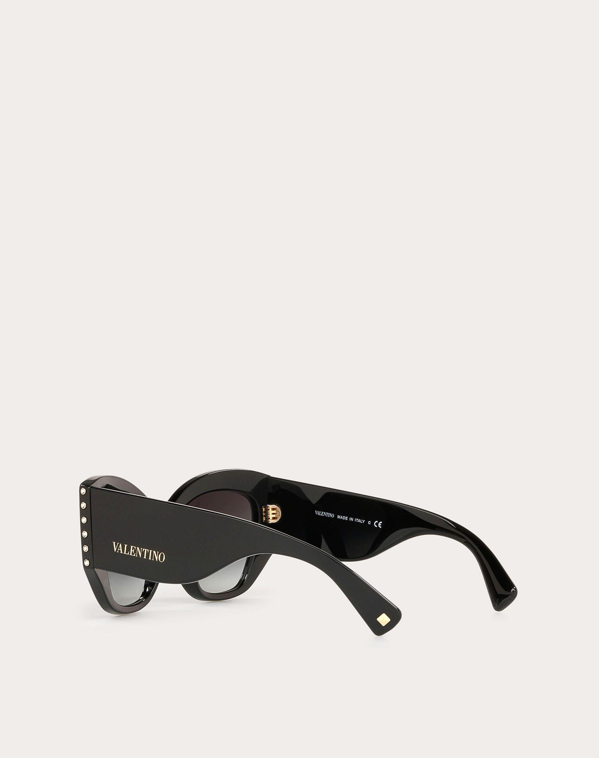 ACETATE SUNGLASSES WITH CRYSTAL STUDS 3